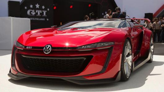 Volkswagen impresioneaza cu GTI Roadster Vision Gran Turismo