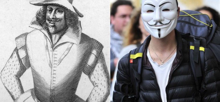Simboluri intelese gresit: Guy Fawkes / Anonymous