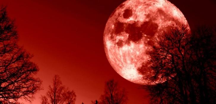 Luna Sangerie si Super Luna sunt semne ale Apocalipsei