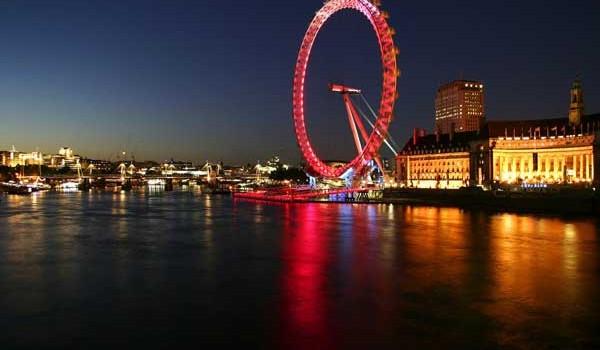 De stiut in Londra